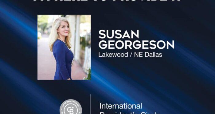 Susan Georgeson - 2021 CB International President's Circle
